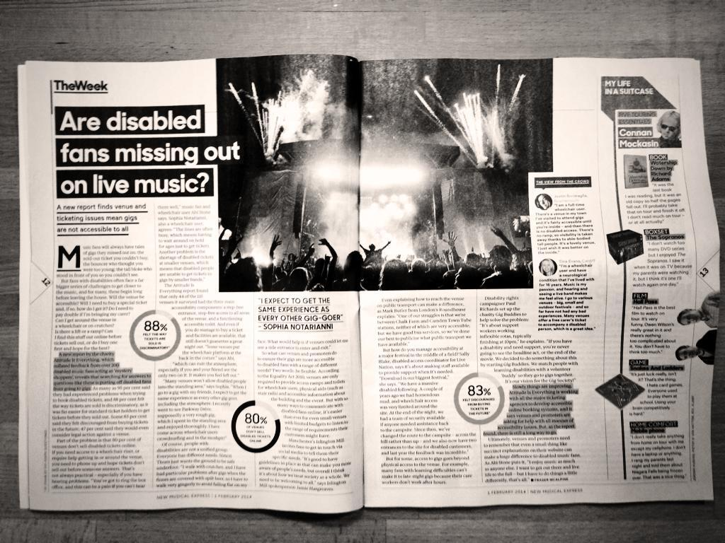 NME article