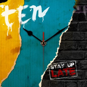 What's your bedtime? The Stay Up Late clock showing the time is 10.10pm