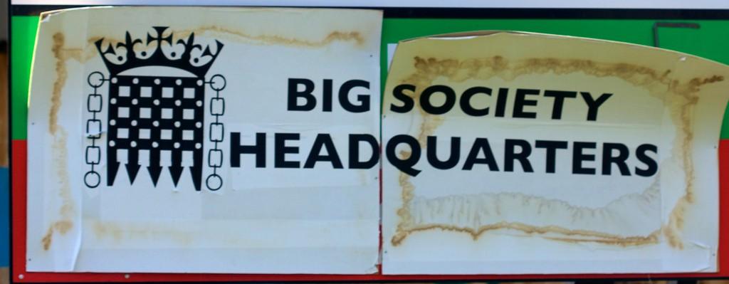 The Big Society just got a little bit smaller
