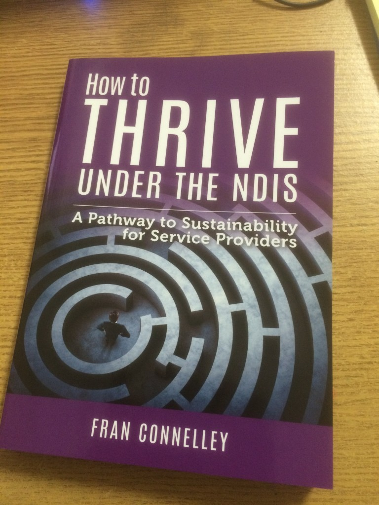 How to Thrive Under the NDIS – new book