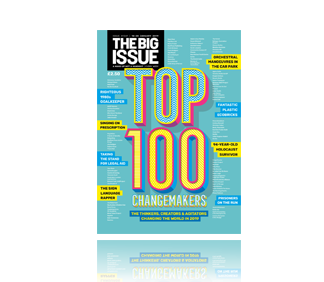 We're in the Big Issue Top 100 Changemakers