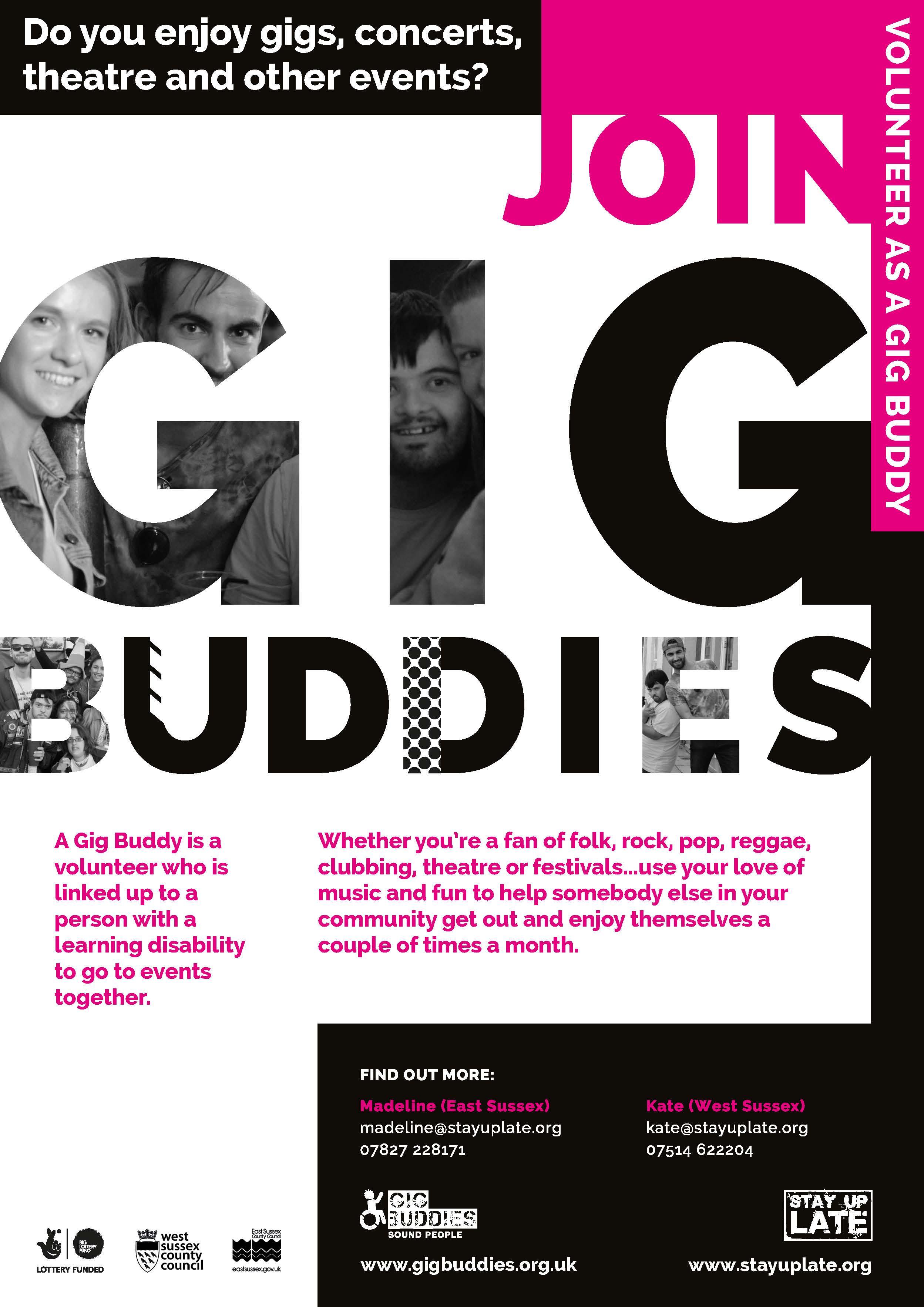 Gig Buddies in a Box